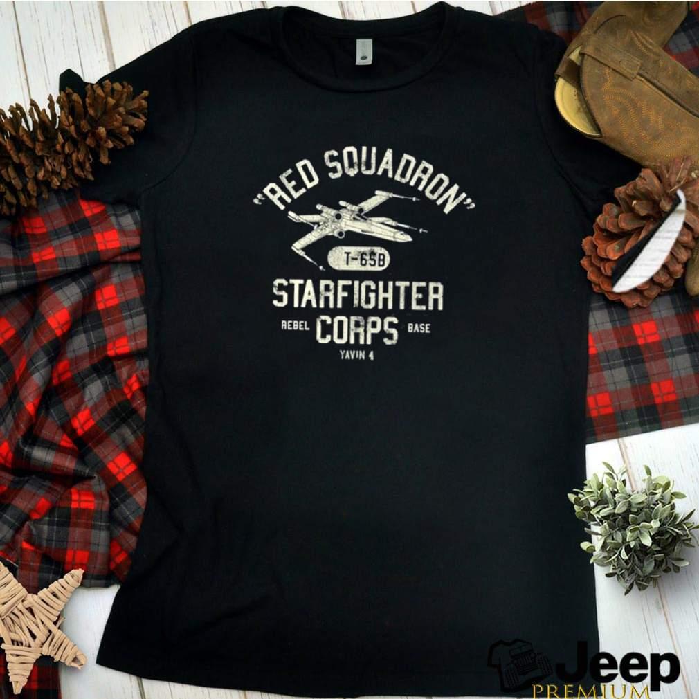 Star Wars Red Squadron Rebel Poster shirt