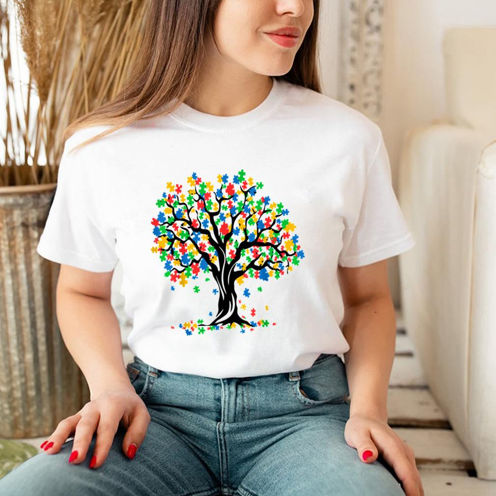 Tree Of Life Autism Awareness Month ASD Supporter Shirt