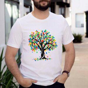 Tree Of Life Autism AwarTree Of Life Autism Awareness Month ASD Supporter Shirteness Month ASD Supporter Shirt