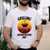 Vintage Grilling AppreciaVintage Grilling Appreciation Day BBQ Meat Shirttion Day BBQ Meat Shirt