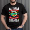 Proud Mama Bear Autism Mom of Boy Girl Mothers Day 2021 Shirt