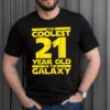 Sci Fi 2000 21st Birthday For 21 Year Old shirt