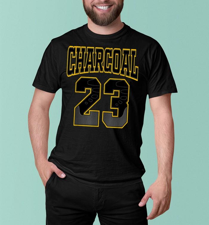 23 made to match 9 University gold retro shirt 5
