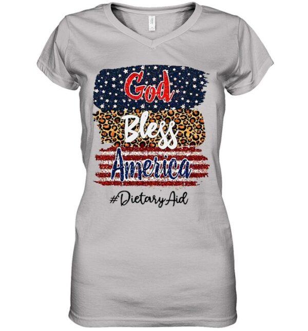 God Bless America Dietary Aid shirt
