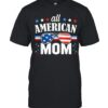 All American mom 4th of july usa family matching shirt