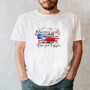 America needs Jesus and camper shirt 2