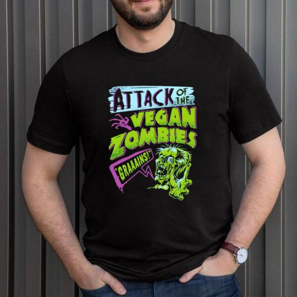 Attack Of The Vegan Zombies Grains T shirt