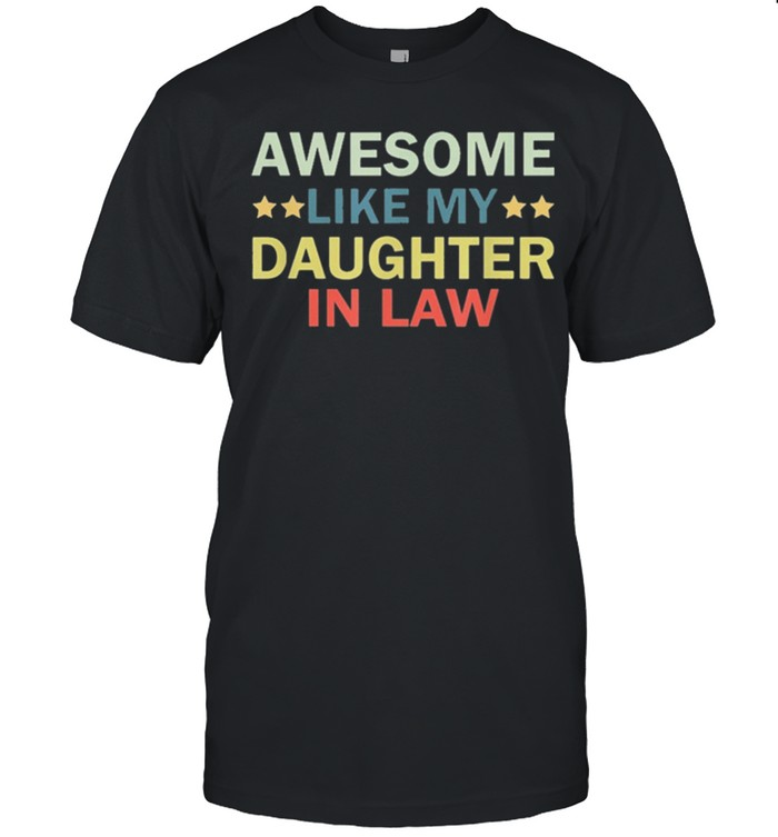 Awesome like my daughter in law family lovers retro vintage shirt 5