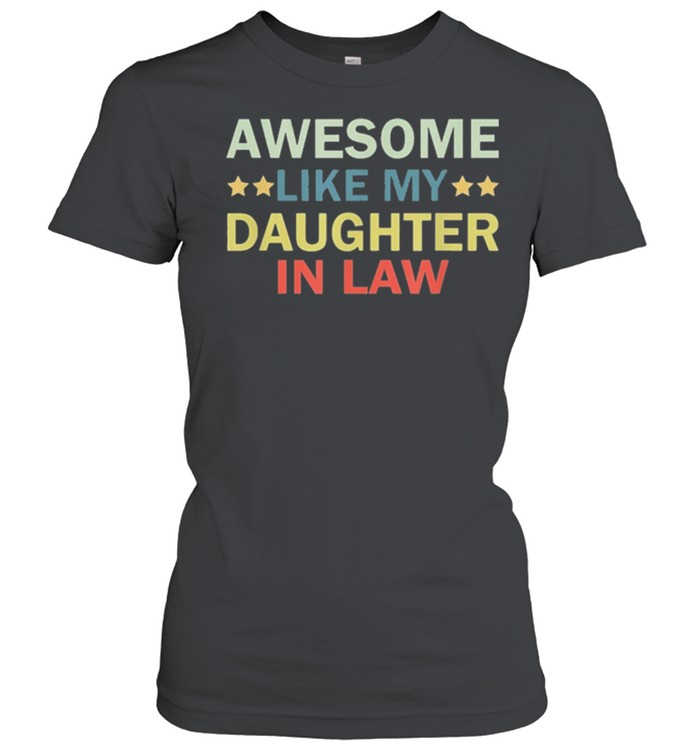 Awesome like my daughter in law family lovers retro vintage shirt 6