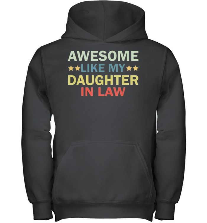 Awesome like my daughter in law family lovers retro vintage shirt 7