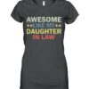 Awesome like my daughter in law family lovers retro vintage shirt