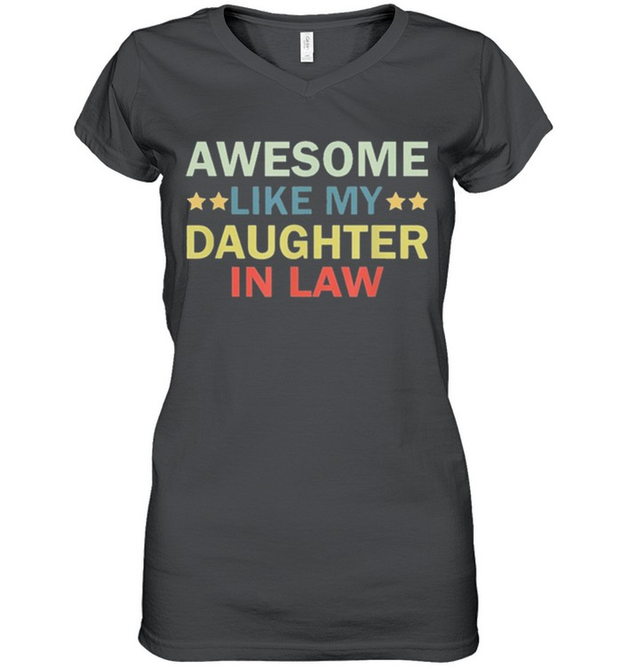 Awesome like my daughter in law family lovers retro vintage shirt 8
