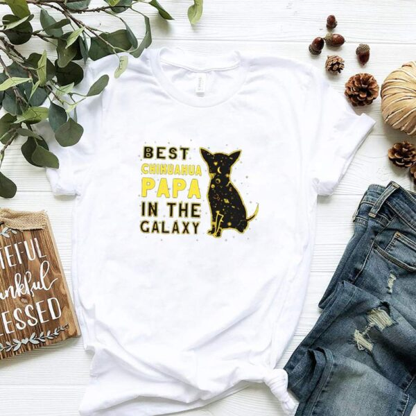 Best Chihuahua Papa in the Galaxy Star Wars shirt