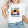 Black Cat Never Underestimate A Woman With Cats And Jiu jitsu Skills Vintage shirt
