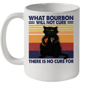 Black cat what bourbon will not cure there is no cure for vintage shirt