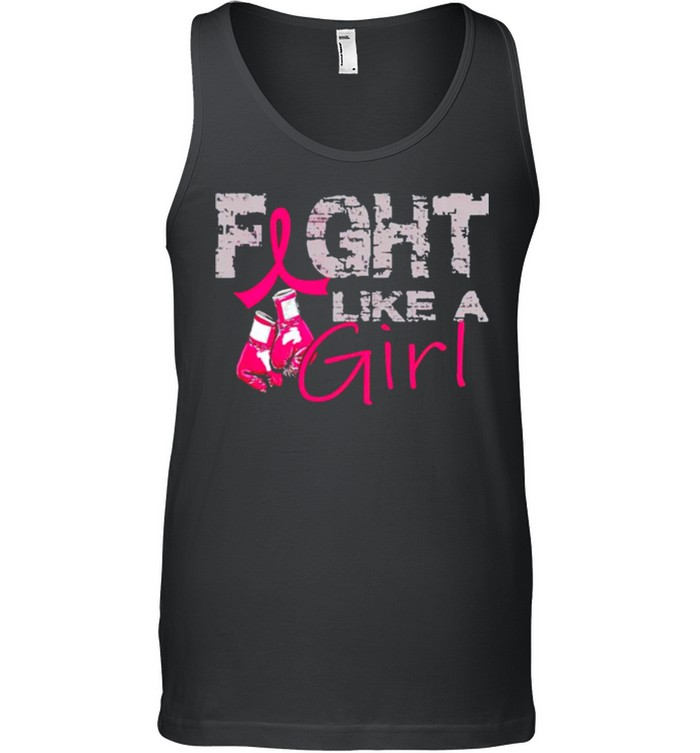 Breast Cancer fight like a girl shirt 8