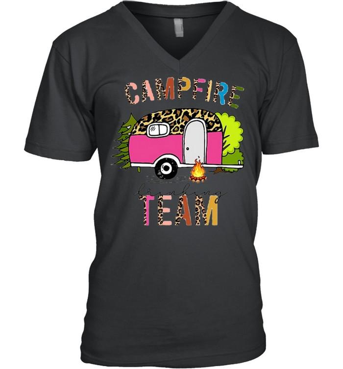 Campfire Drinking Team T shirt 8