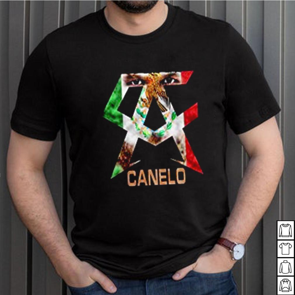 Casual Canelo Alvarez shirt