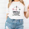 Christelle Est Toujours En Retard Sauf Pour Lapero T shirt