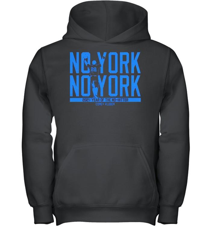 Corey Kluber no york no york 2021 year of the no hitter shirt 6