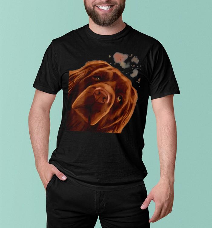 Curious Dog Sussex Spaniel shirt 6