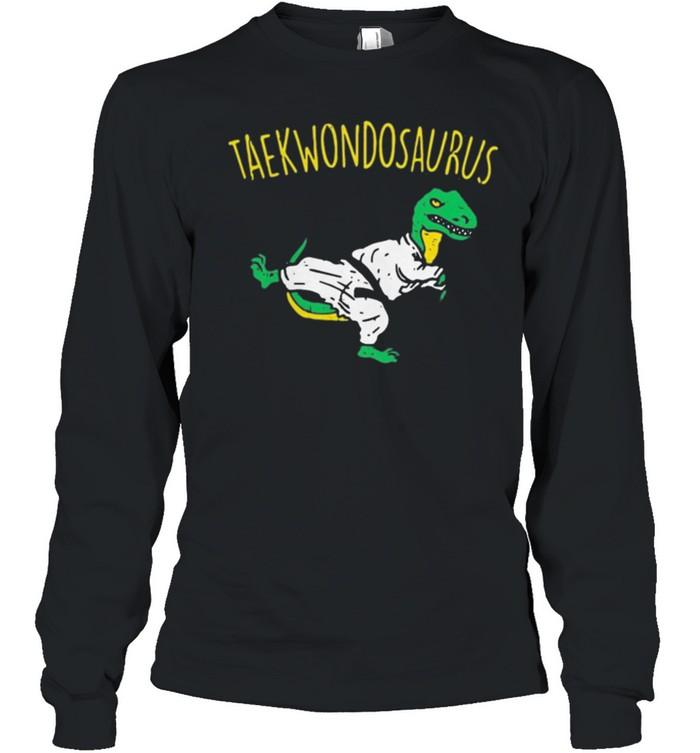 Dinosaurs taekwondosaurus shirt 5