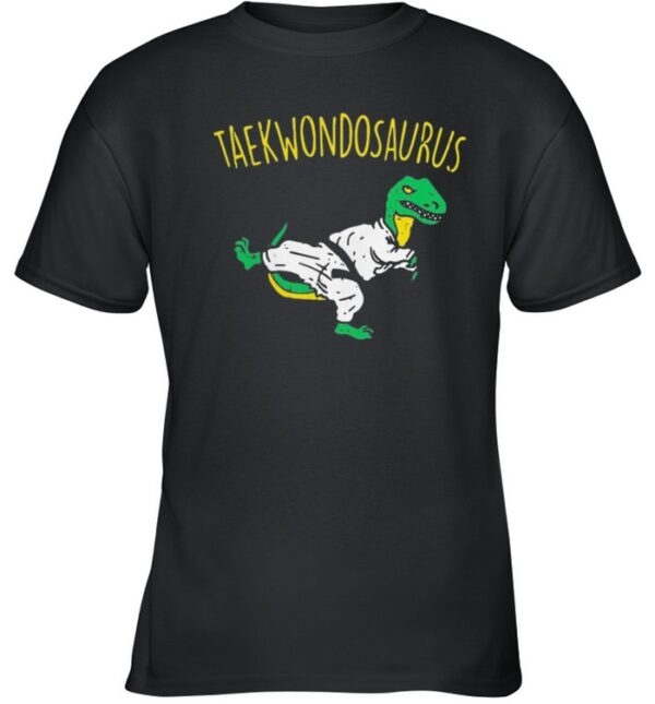 Dinosaurs taekwondosaurus shirt