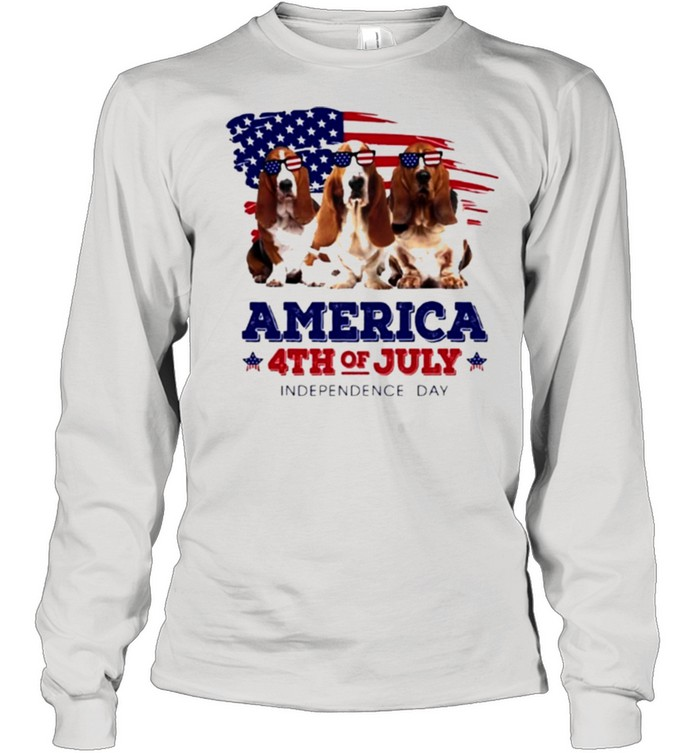 Dog American flag 4th of july independence day shirt 8
