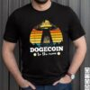 Dogecoin to the Moon Vintage Crypto BTC T Shirt