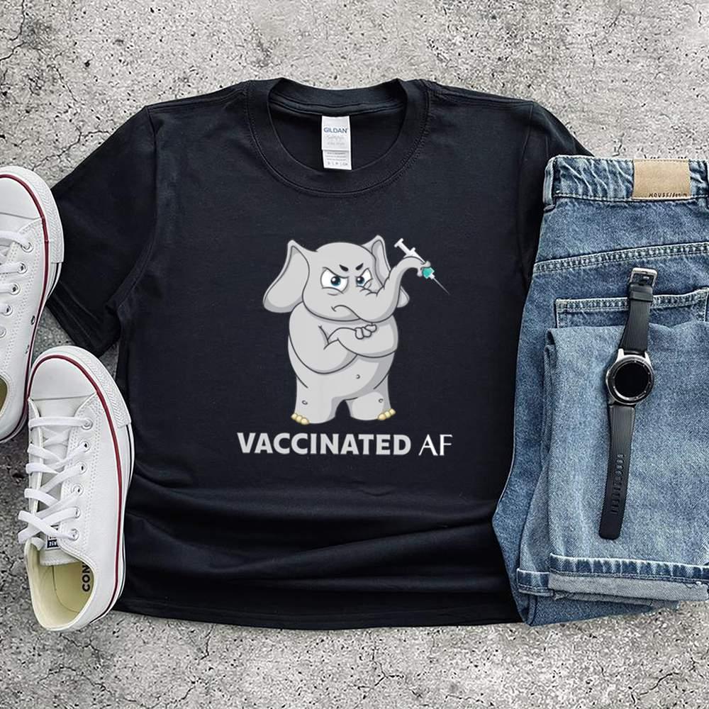 Elephant vaccinated af shirt 5