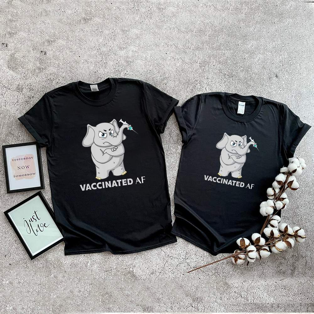 Elephant vaccinated af shirt 9
