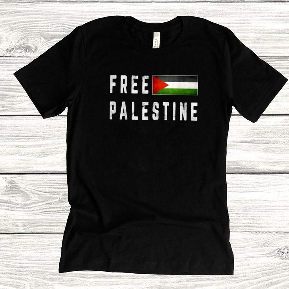 Free Gaza Palestine Flag Shirt 1