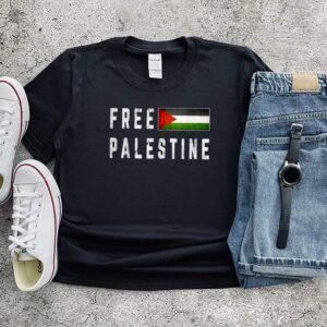 Free Gaza Palestine Flag Shirt