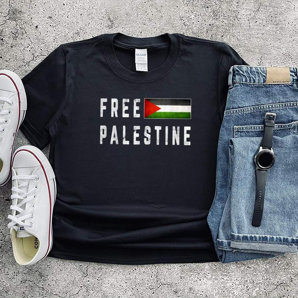 Free Gaza Palestine Flag Shirt 2