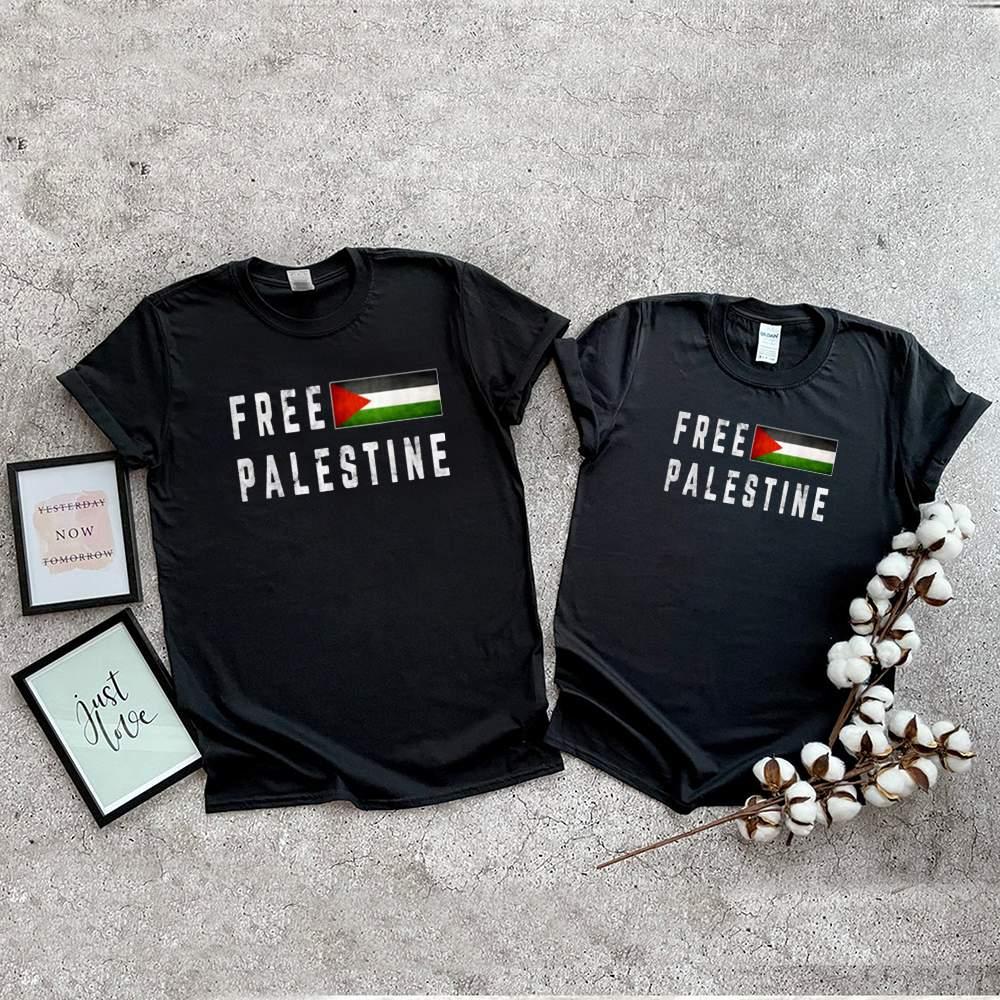 Free Gaza Palestine Flag Shirt 3