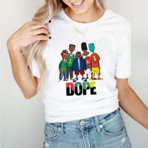 Friend Dope Color Shirt