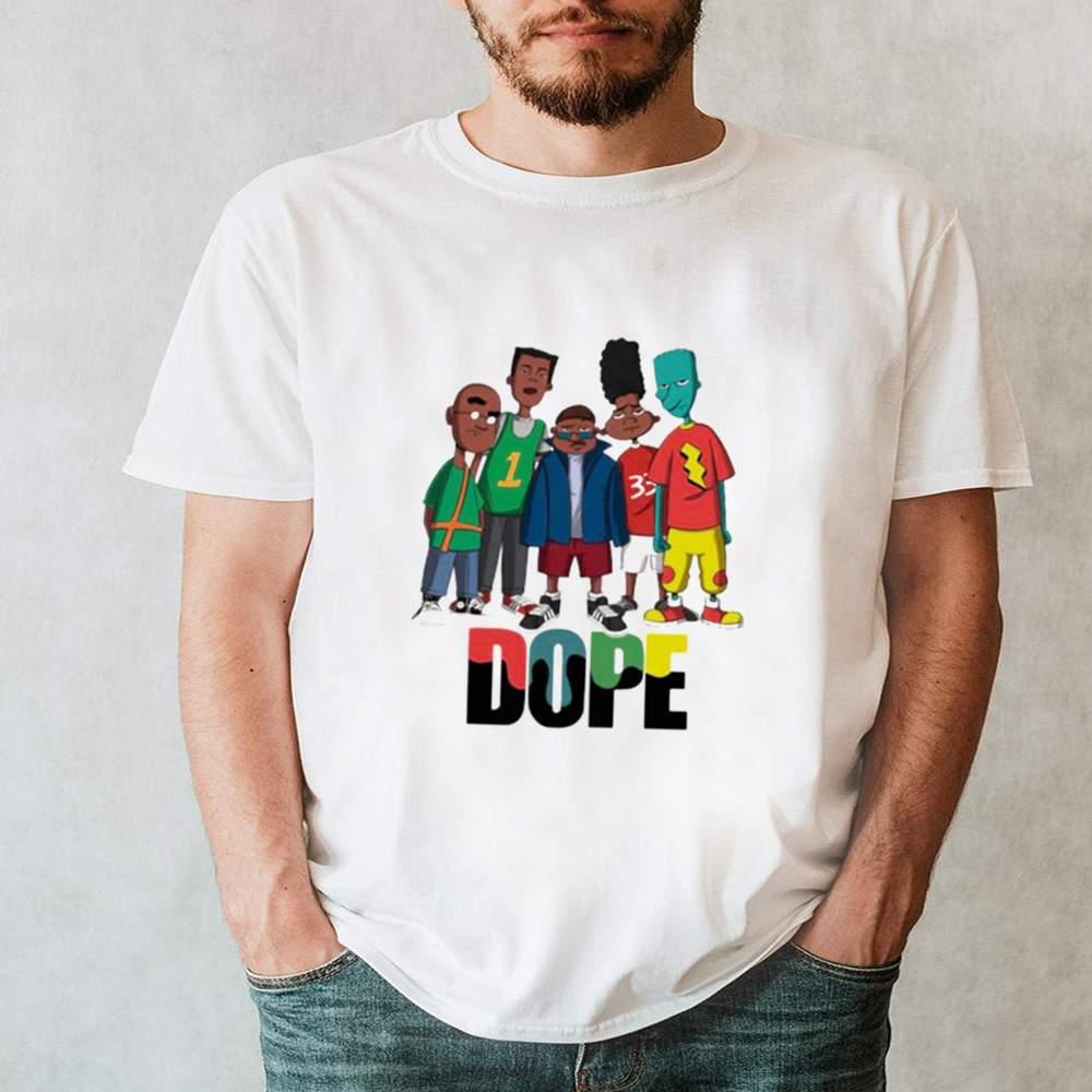 Friend Dope Color Shirt 2