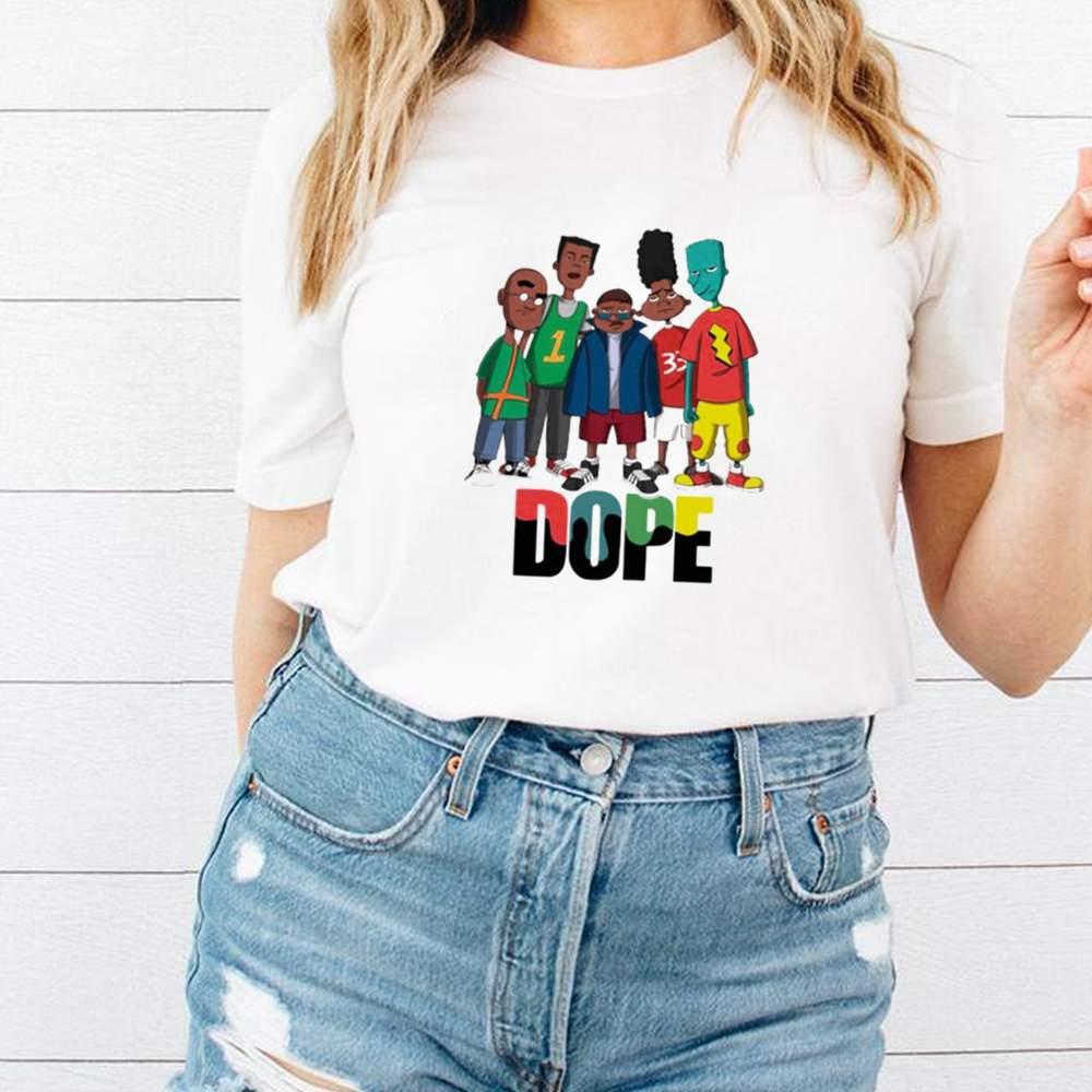Friend Dope Color Shirt 3