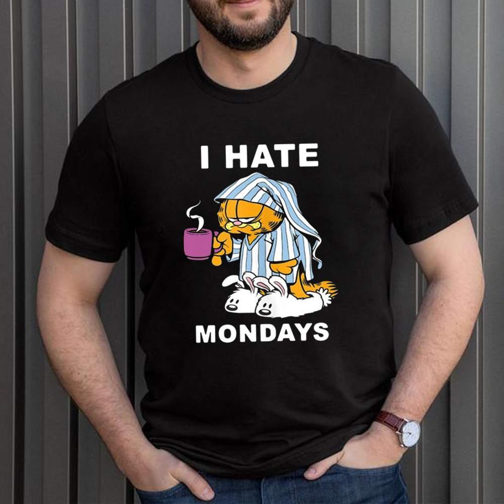 Garfield I Hate Mondays Coffee Garfield Shirt 1