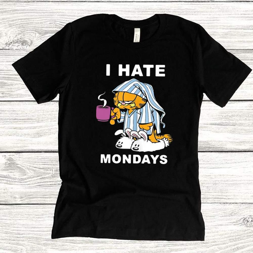 Garfield I Hate Mondays Coffee Garfield Shirt 2