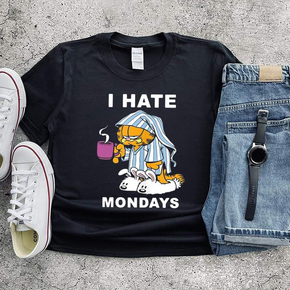 Garfield I Hate Mondays Coffee Garfield Shirt 3