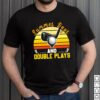 Golf Summer Days And Double Plays Vintage Shirt
