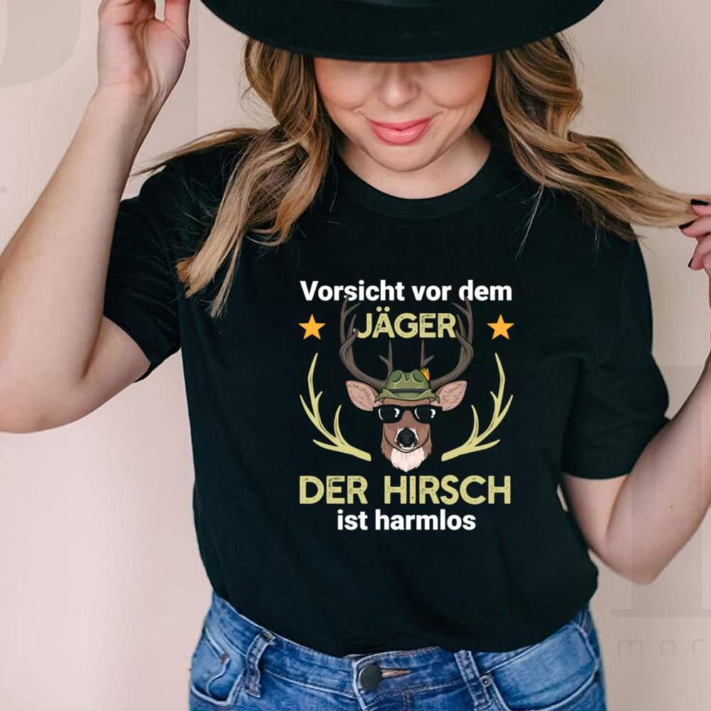 Hirsch Jager Jagd Wald shirt 7