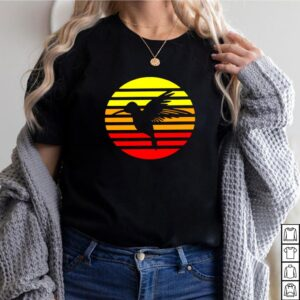 Hummingbird Design Retro And Vintage Style 80S And 70S Vintage T shirt 7