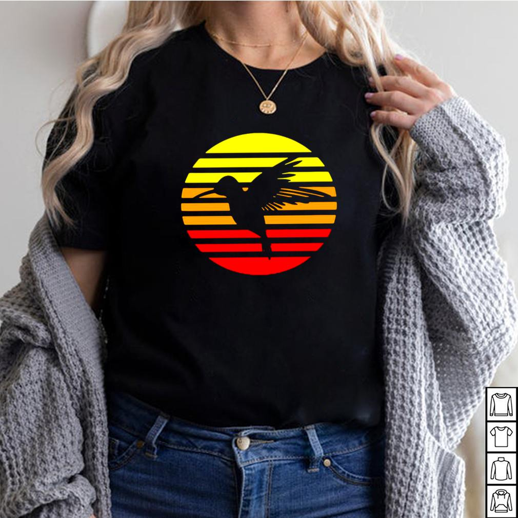 Hummingbird Design Retro And Vintage Style 80S And 70S Vintage T shirt 10