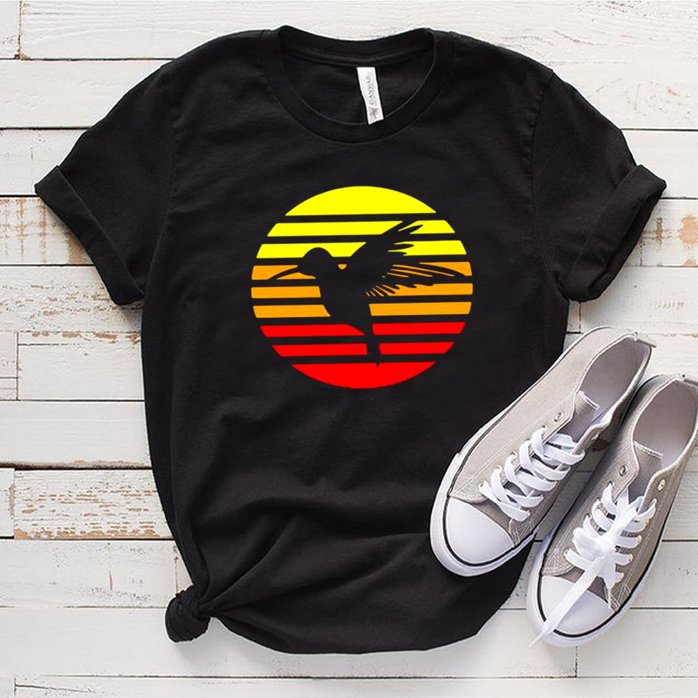 Hummingbird Design Retro And Vintage Style 80S And 70S Vintage T shirt 14