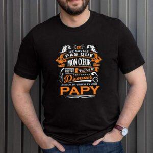 Je Ne Savais Pas Que Mon Coeur Pouvait Tenir Damour Papy shirt