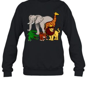Kinder Geschenk fur Kinder Safari Tierfreunde shirt