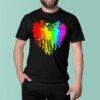 Love Dancing Bear Grateful dead watercolor shirt