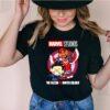 Marvel Studios Falcon And Winter Soldier Chibi Cute Captain America Shirt